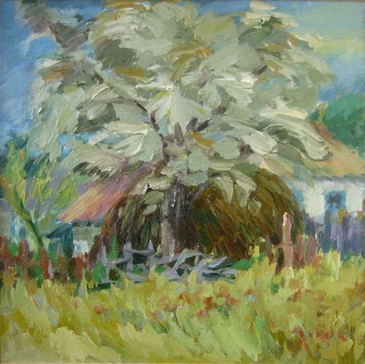 Серебристое дерево
