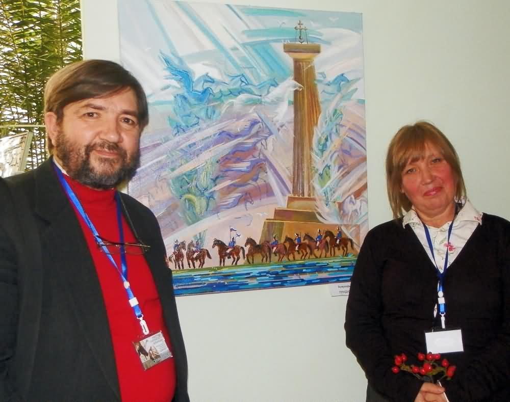 18. Участница выставки С. Кожухарь