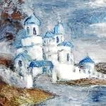 5. А. Масликова. Церковь. Х, м, 50,5х34, 2012