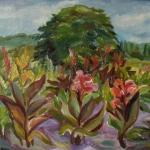 8. Г. Молотова. Осень в ботаническом саду. Х., м. 45х40, 1997